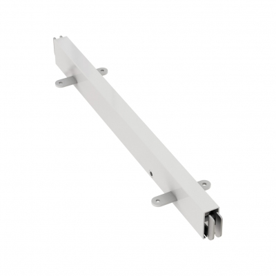 8844 - Mensola centrale per continuità in tubo 40x20 mm.