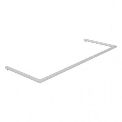 """8886 - Barra """"U"""" orizzontale per banco cassa, in tubo tondo Ø 16 mm."""