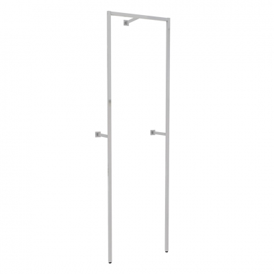 9301 - Struttura portale a parete per ripiani da 600 mm.