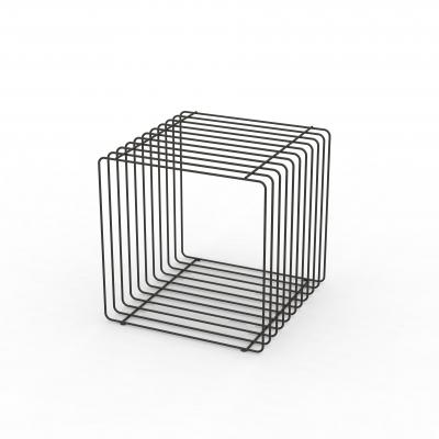 QB001 - Cubi espostivi in tondino edile