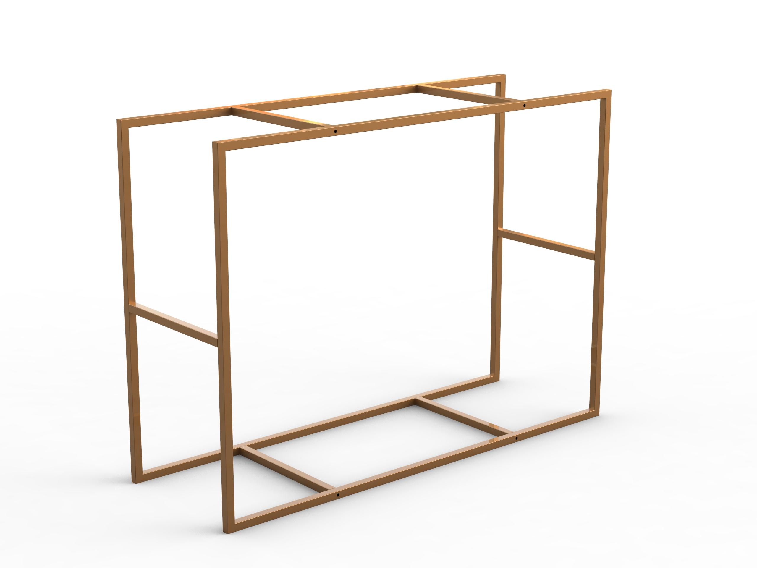 Cua400 struttura tavolo alto for Tavolo tondo alto