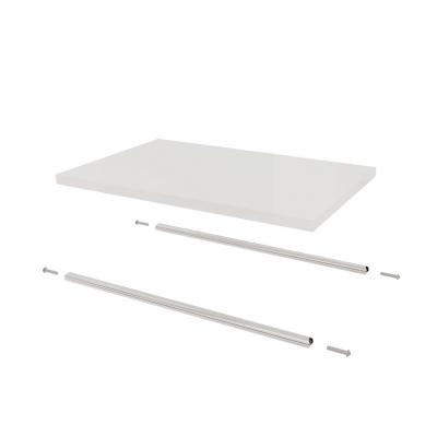 1220 - Coppia di barre per ripiano per struttura piccola art. 1210.