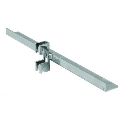 2028A - Central shelf bracket. Compatible with: EURO, TURBOS, TUBI P50* (TUT50100, TUT60100, TUR53100, TUR53102, TUR63100, TUR83100, TUQ30101, TUQ40100)