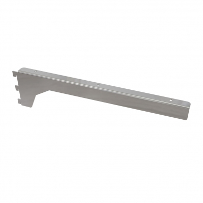 2051ADX/SX - Pair of three-teeth shelf brackets (straight and inclined).