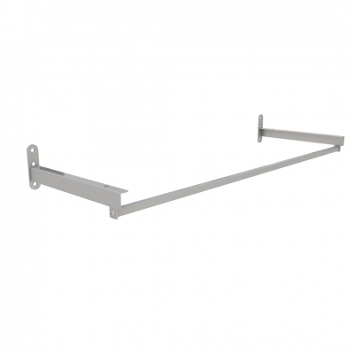 4146B - Pair of shelf brackets with hanging bar L 900 mm.