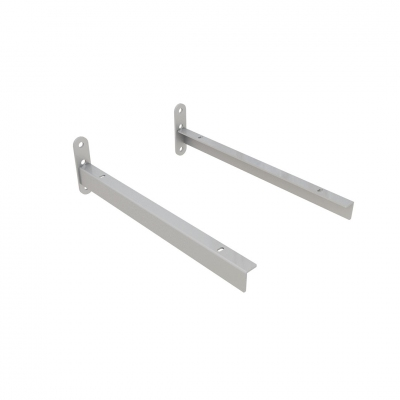 4147DX/SX - Pair of shelf brackets, direct wall fixing.
