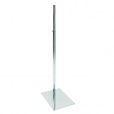 5025 - Base per busti, piatto rettangolare sp. 4 mm.