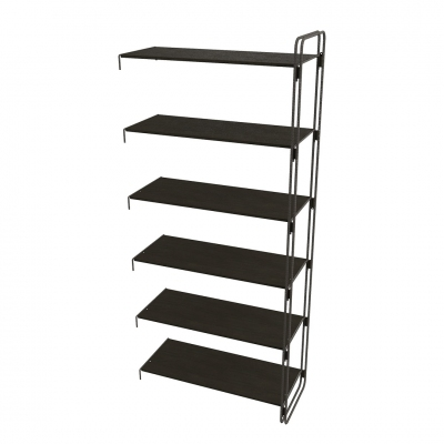7102E - Extension kit of modular wall shelving-unit, pitch 900.