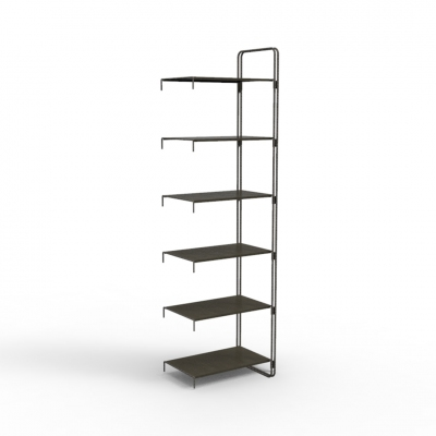 7103E - Extension kit of modular wall shelving-unit, pitch 600.
