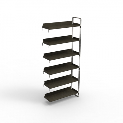 7110E - Extension kit of modular wall shelving unit, pitch 900.