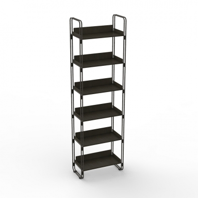 7111 - Modular wall shelving unit, pitch 600.