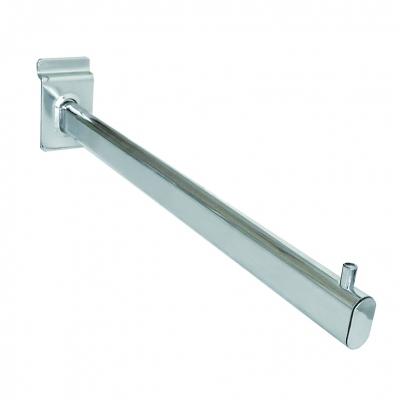 8005G - Braccio diritto tubo ovale 30x15 mm
