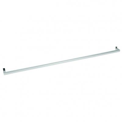 8346C - Barra porta broches l=630 mm. Tubo 15x15x1,5 mm. Portata max. 30 kg