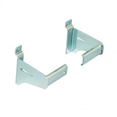 8545DX/SX - Coppia supporti per barra in tubo ovale 30x15 mm (art.4000L).