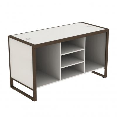 8880A - IN ESAURIMENTO - Banco cassa grande 1600x700x900 mm completo di parte in legno