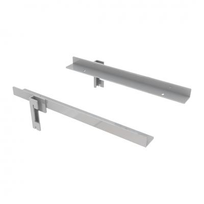 9383DX/SX - Coppia mensole per aggiungere ripiani sotto ai tavoli art. 9380 e 9381.