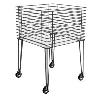 MGT002 - Struttura per cesta promozionale alta in tondino edile