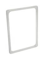 DV05010 - Cornici porta-cartello in ABS A4 verticale
