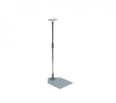 DV05505 - Piantana con base in metallo e attacco a T h=500mm+500mm