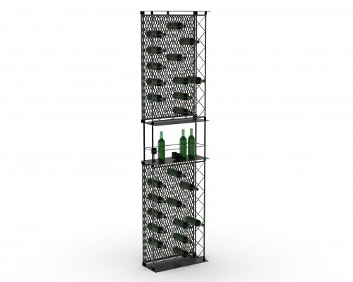 MGT503 - Espositore per vino a doppia altezza