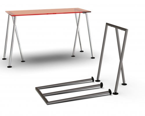CIC440 - Pair of folding legs for table