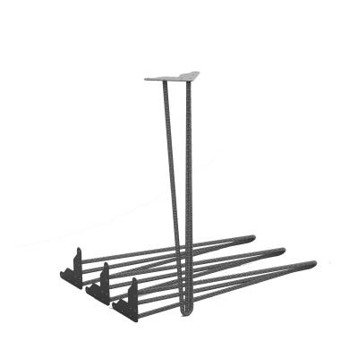 MGT052 - Set di 4 gambe per tavolo h670