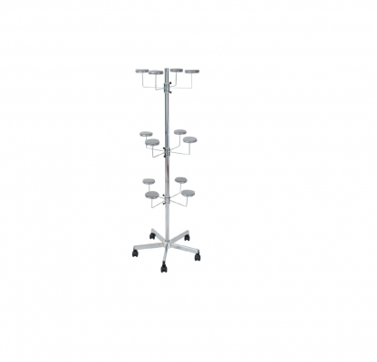 ST055 - Hat-holder stand. Wheels Ø 50 mm - PRODUCT RUNNING OUT