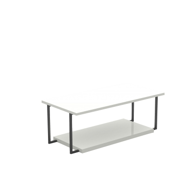 CUA401L - Low table with double top
