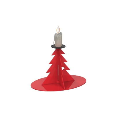XMS0051 - Supporto per candela a forma di albero