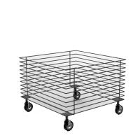 MGT006 - Struttura per cesta promozionale bassa in tondino edile