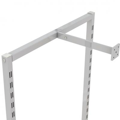9302 - Struttura portale a parete H 2400 mm, per ripiani da 900 mm.