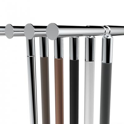 CIC008 - Stender fisso accatastabile in tubo Ø35 mm larghezza 150cm