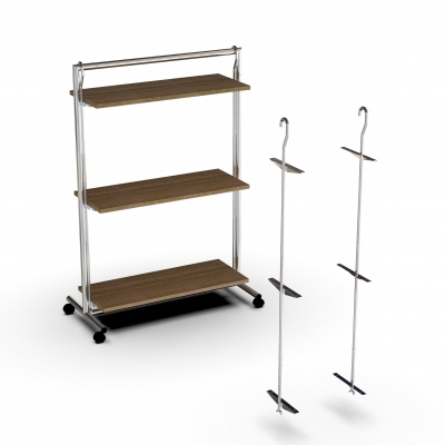ST101PR - Height-adjustable gondola system - <b><mark>PRODUCT RUNNING OUT</mark></b>