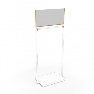 CVD100 - Barriera in vetro l=1000