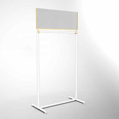 CVD118 - Barriera in vetro l=900
