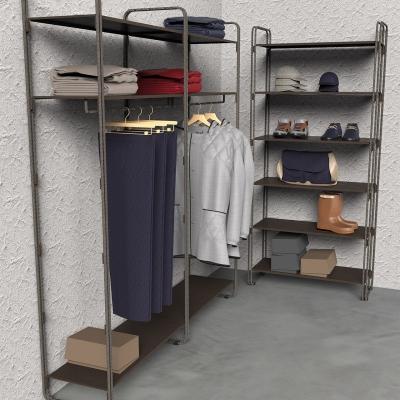 7102 - Modular wall shelving-unit, pitch 900.