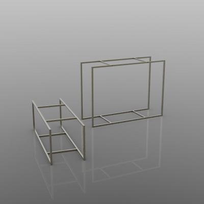 CUA400 - Struttura tavolo alto