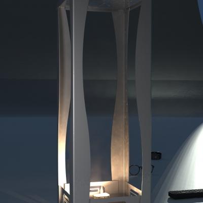 2500B - <b><mark>IN ESAURIMENTO</mark></b> - Ripiano in legno 900x400 sp. 25 mm.