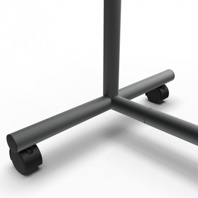 CIC117 - Stender fisso in tubo Ø 35 mm di larghezza 60 cm